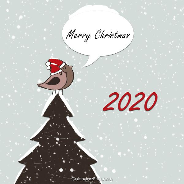 Printable Christmas Cards 2020 Christmas Cards 2020 – Printable Free – Singing Birds