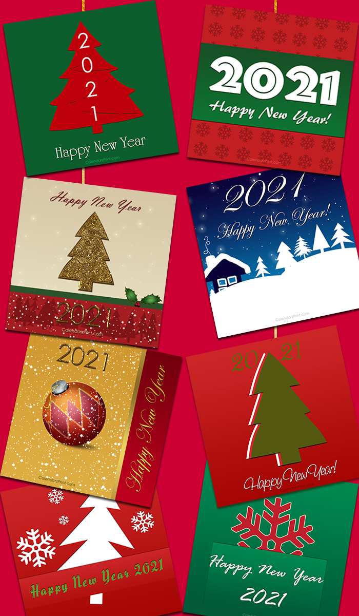 New-Year-Cards–Collage-2021-001 – CalendarzPrint | Free ...
